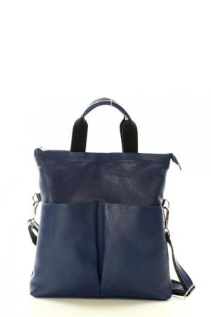 Přírodní kožená taška model 121376 Mazzini