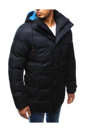 26e9d1218 Pánská zimní prošívaná bunda s kapucí EW-415 (tx1978) - EW-Club