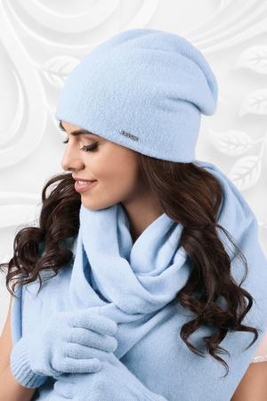 Dámská čepice model 163039 světle modrá - Kamea 394fb34cf5