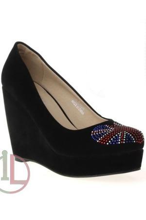 Dámské boty na klínu