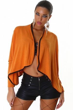 Dámský pletený kabátek