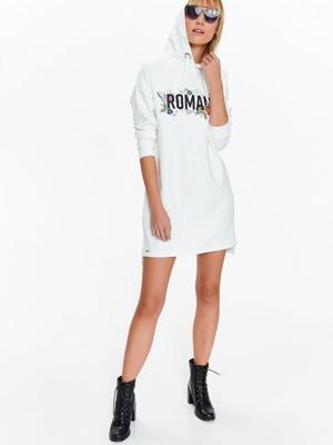 a431a1367d72 Top Secret Mikina dámská bílá s kapucí