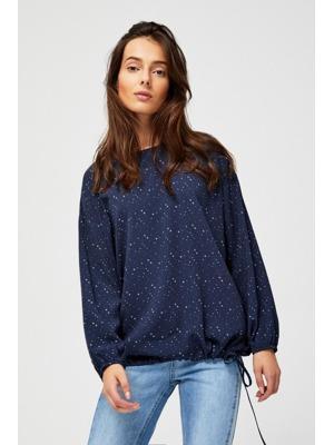 39759875b332 Moodo Košile dámská vzorovaná s dlouhým rukávem