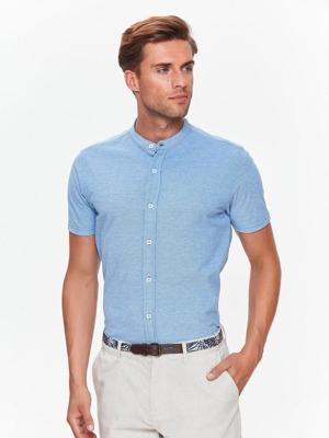 b318f2d1f Top Secret Košile pánská s krátkým rukávem a stojáčkem