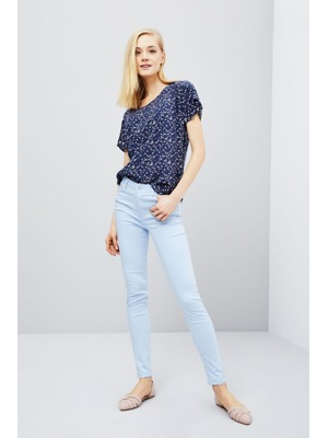2df8668d12f7 Moodo Kalhoty dámské jednobarevné