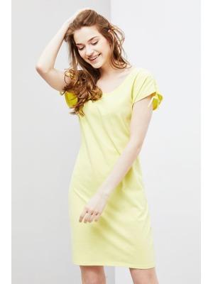 3eb31fd2acaa Moodo šaty dámské bavlněné s krátkým rukávem