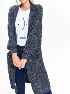 e5ee03edfe63 Dlouhý pletený dámský svetr propínací Top secret (32 produktů)