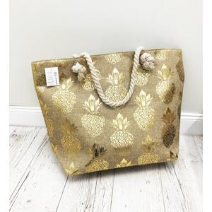 6b1e4a1bad Plážová taška MOLI - zlatá zlatá