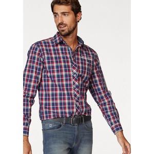 Rhode Island Kostkovaná košile Rhode Island modrá-červená kostkovaná 024db67903