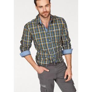 Rhode Island Kostkovaná košile Rhode Island modrá-žultá-bílá-kostková 7a35a0599a