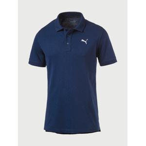 Tričko Puma Ess Pique Polo Blue Depths Modrá d6bbeebf0f2