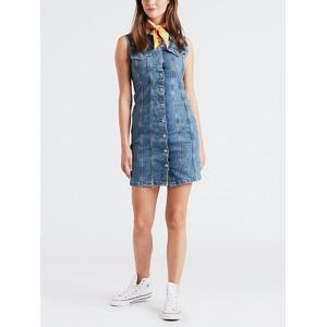 64d07992ef81 Šaty LEVI S Sl Short Aubrey Dress Modrá