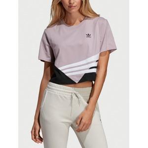 d2e185e1e024 Tričko adidas Originals Crop Tee Barevná