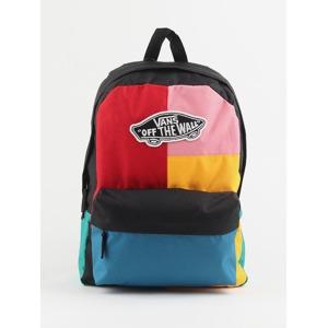 d94ffa3688 Batoh Vans Wm Realm Backpack Patchwork Barevná