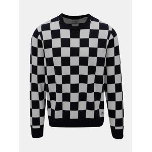 Bílo-modrý kostkovaný svetr Original Penguin Checkboard 70860191a9