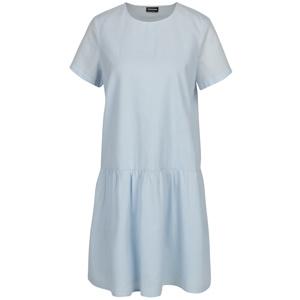 Světle modré šaty s volánem Noisy May Republique 46b11e3fa65