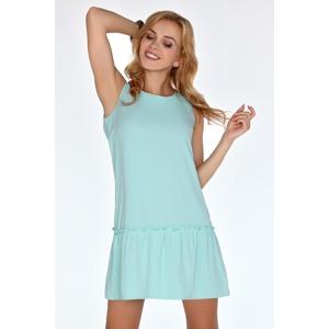 1a9e74725e06 Dámské šaty model P30237 mentolová - Merribel