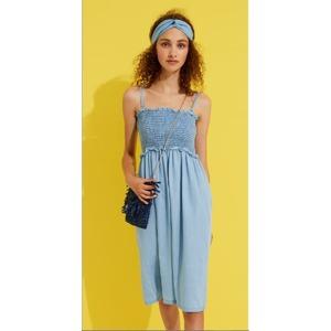 2104ac5f230d Dámské džínové šaty 2v1 LA1958PB - Noidinotte