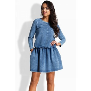 1b1b6b2c2d9e Riflové šaty pro plnoštíhlé (89 typů)