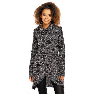 256471ab4e56 Dlouhý pletený dámský svetr propínací (925 kousků)