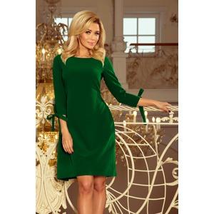 3796abc46e5c Světle zelené dámské šaty s mašlemi 195-7 ALICE