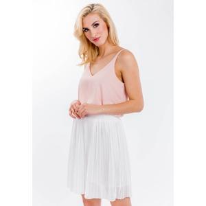 6719fc466d23 Hladká dámská plisovaná sukně