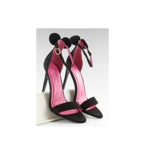 6cf9b4681d Dámské sandály na podpatku Inello 84733 - Coco perla