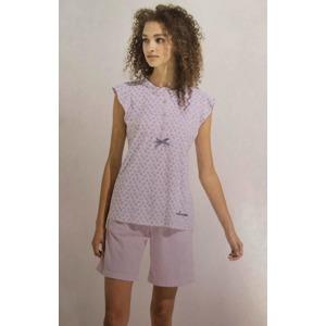c72aab303ec8 Dámské krátké pyžamo FA6755 modrá - Noidinotte