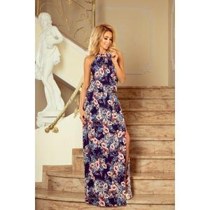 2317d0d27867 Dámské maxi šaty s vzorem květů