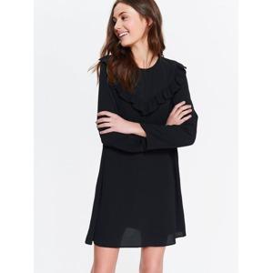 16f17b165989 Top Secret šaty dámské s volánkem a dlouhým rukávem