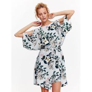 Top Secret šaty dámské květinové s netopýřím prostřiženým krátkým rukávem 1457fb3c4fe