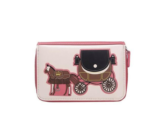 Peněženka Horse Carriage - růžová