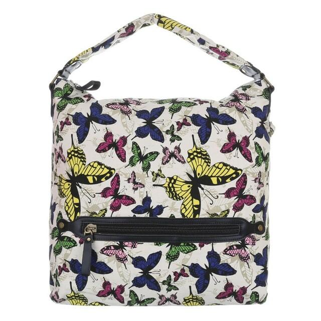 Kabelka K-Fashion Butterfly HOBO II. - bílá