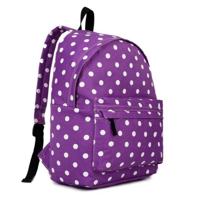 Batoh Lulu Dot - fialový