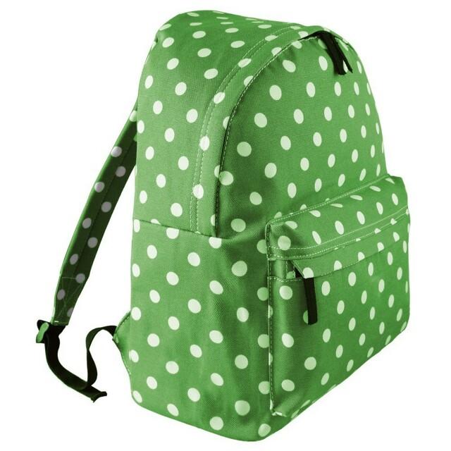 Batoh Lulu Dot - zelená