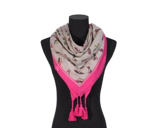 Luxusní šátek Tassle Bird I.
