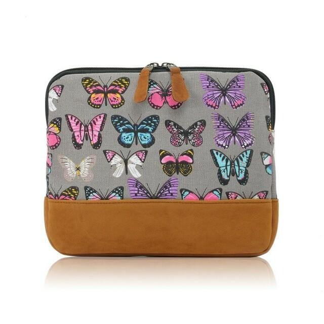 Obal na tablet Butterfly Dream - šedá - šedá