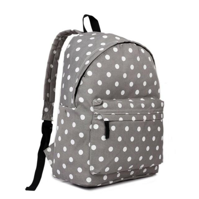 Batoh Lulu Dot - šedý