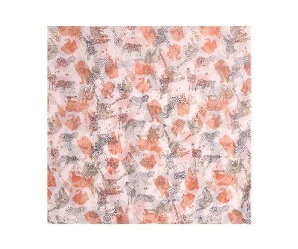 Luxusní šátek Animal Orange