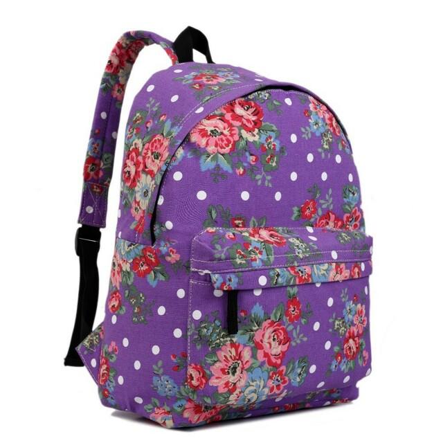 Batoh Lulu Vintage - fialový