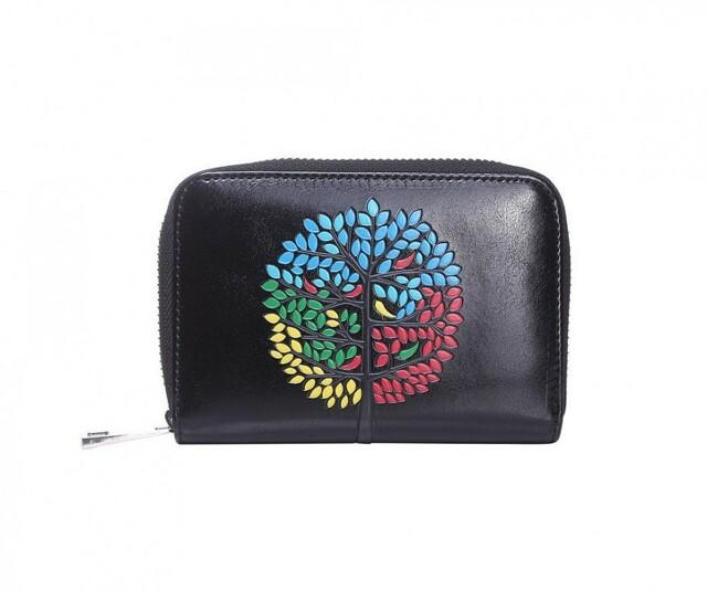 Peněženka Color Tree - černá