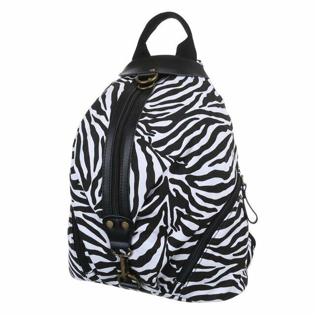 Batoh K-Fashion Zebra - černobílý