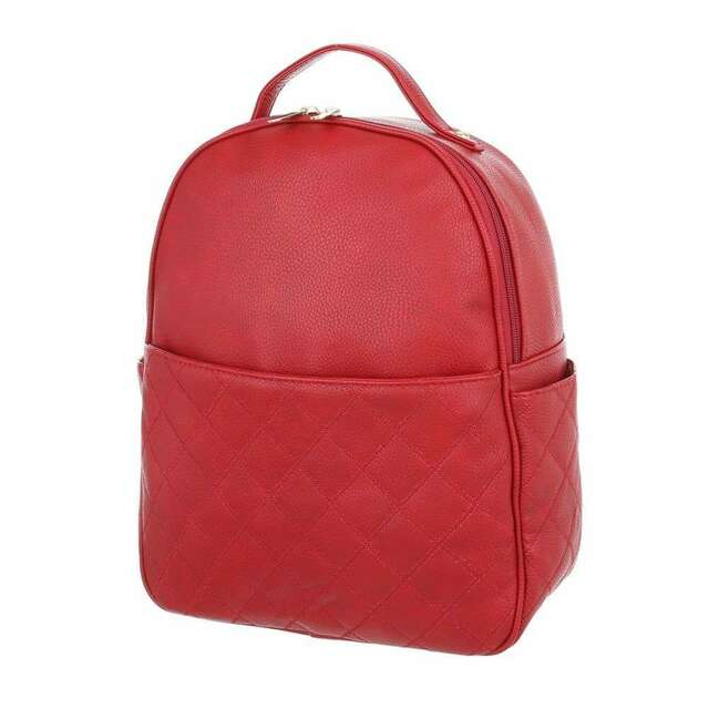 Batoh Mac Queen Kara - červený - červená