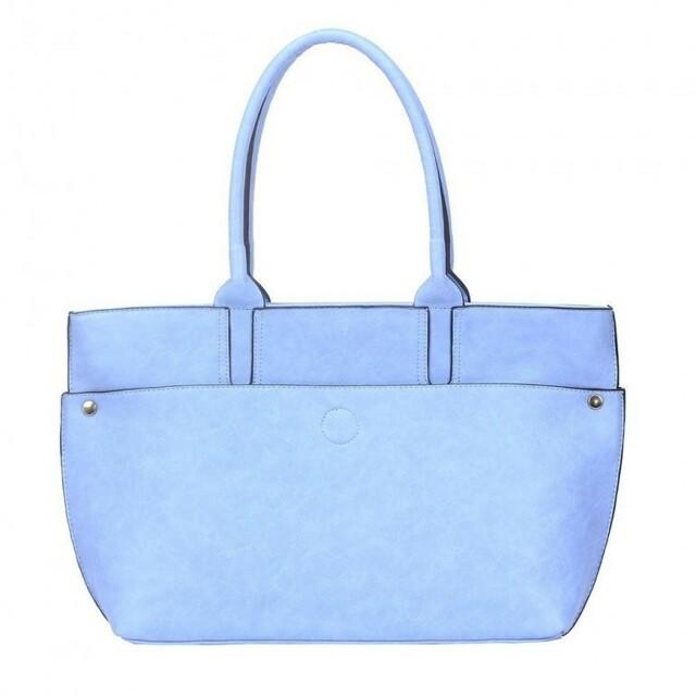Kabelka Iliana Maxi Shopper - modrá