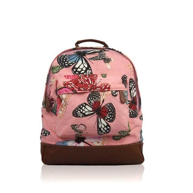 Batoh Butterfly - růžová