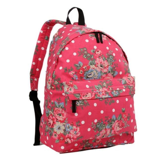 Batoh Lulu Vintage - růžový