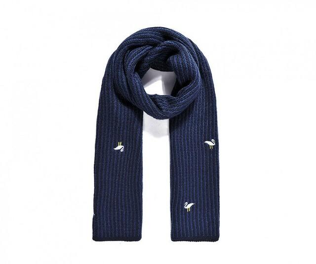Šála Bando Fashion n.436 - navy - modrá
