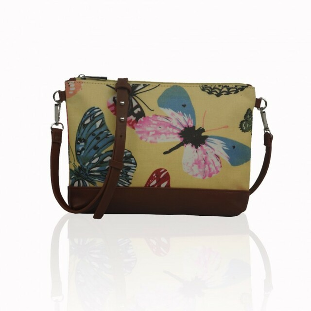 Kabelka Small Crossbody Butterfly Dream - žlutá - žlutá