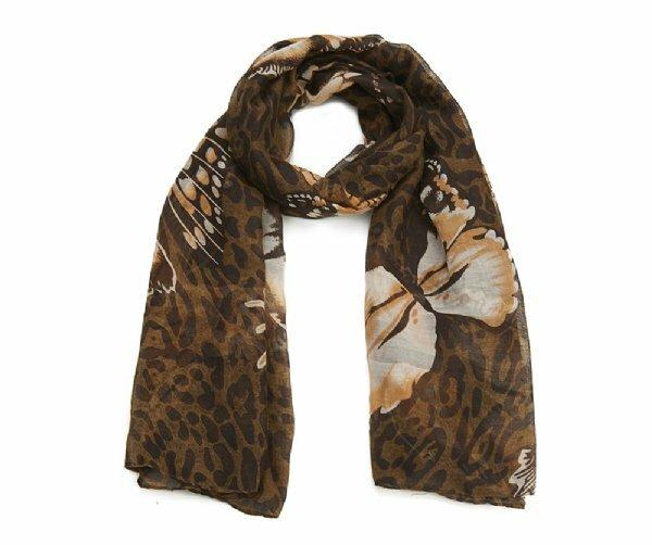 Luxusní šátek Butterfly animals