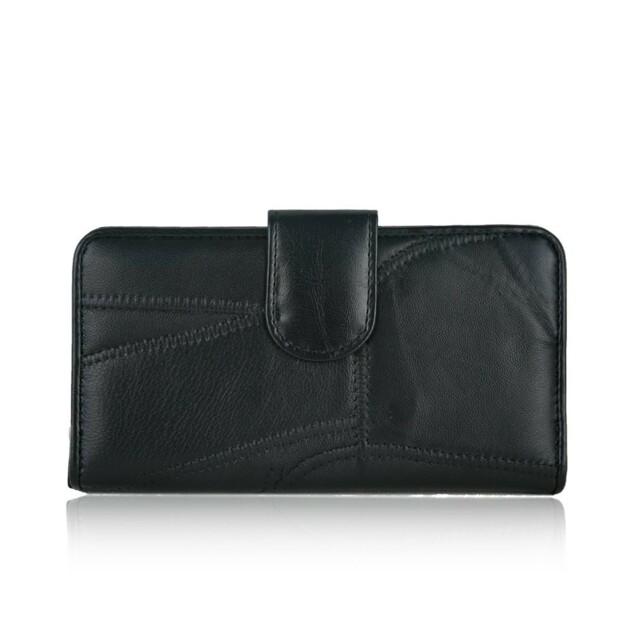 Peněženka Sisi kožená - černá